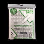 Sacs Aspirateur Central Astro-Vac / Vacumaid Pqt3