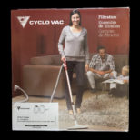 Ensemble De Filtre Aspirateur central Cyclo-Vac Series E